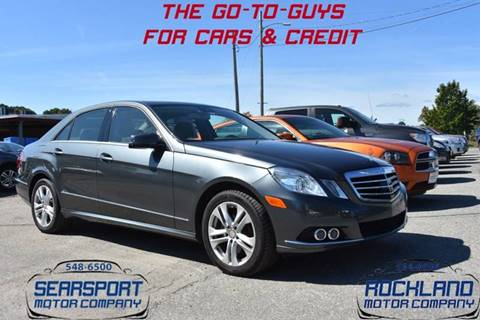 2011 Mercedes-Benz E-Class for sale in Searsport, ME