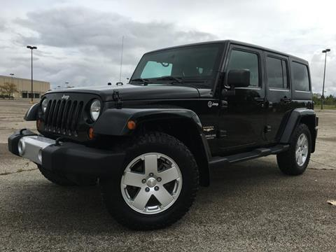 2011 Jeep Wrangler Unlimited for sale at Auto Palace INC in Columbus OH