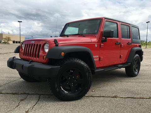 2010 Jeep Wrangler Unlimited for sale at Auto Palace INC in Columbus OH