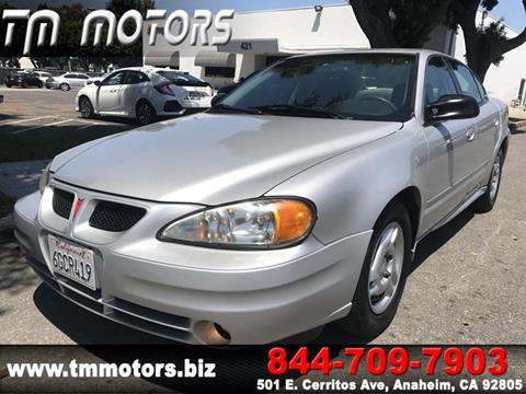 2005 Pontiac Grand Am for sale in Anaheim, CA