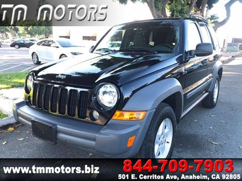2005 Jeep Liberty for sale in Anaheim, CA