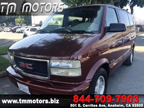 2000 GMC Safari for sale in Anaheim, CA