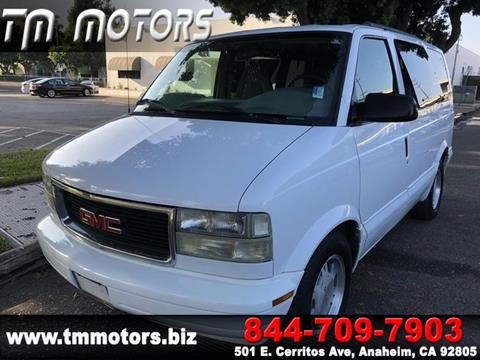 2005 GMC Safari for sale in Anaheim, CA