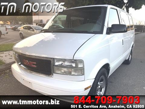 2002 GMC Safari for sale in Anaheim, CA