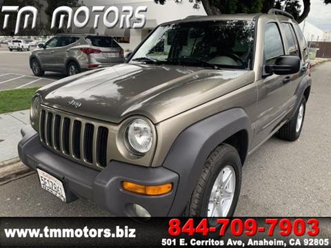 2003 Jeep Liberty for sale in Anaheim, CA
