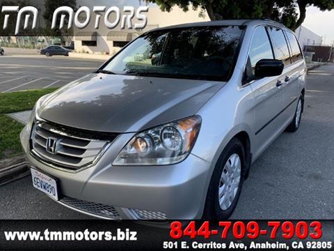 2008 Honda Odyssey for sale in Anaheim, CA