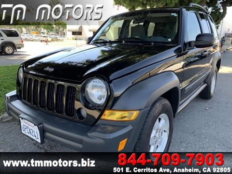 2007 Jeep Liberty for sale in Anaheim, CA
