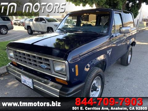Used Ford Bronco >> 1984 Ford Bronco Ii For Sale In Anaheim Ca
