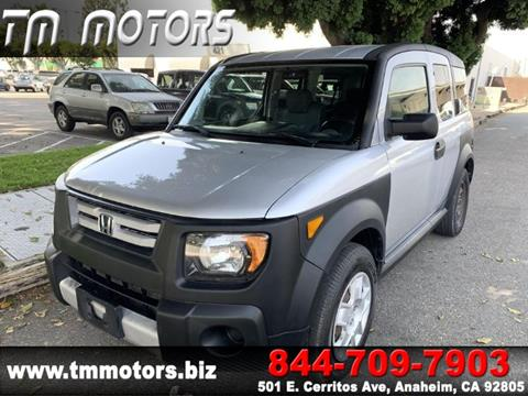 2007 Honda Element for sale in Anaheim, CA