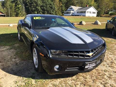2012 Chevrolet Camaro for sale in Townshend, VT