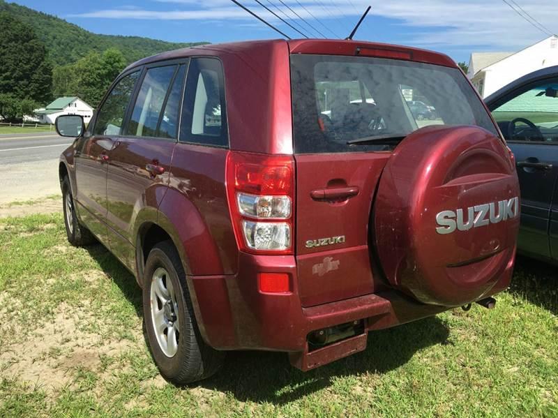 2008 Suzuki Grand Vitara 4dr SUV 4WD w/Hard Spare Tire Cover, Cargo Cover (2.7L V6 5A) - Townshend VT