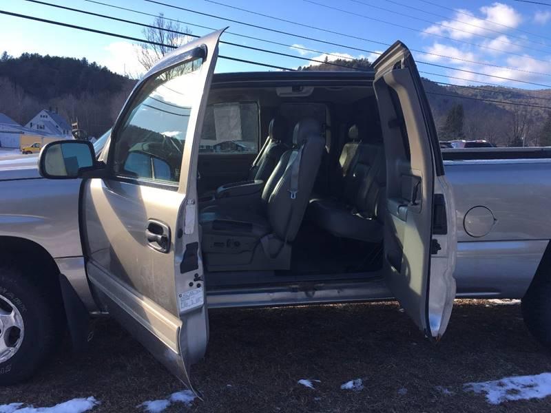 2003 Chevrolet Silverado 1500 4dr Extended Cab LT 4WD SB - Townshend VT