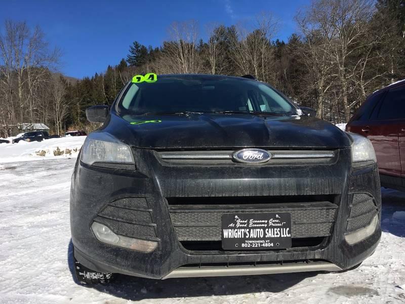 2014 Ford Escape AWD SE 4dr SUV - Townshend VT
