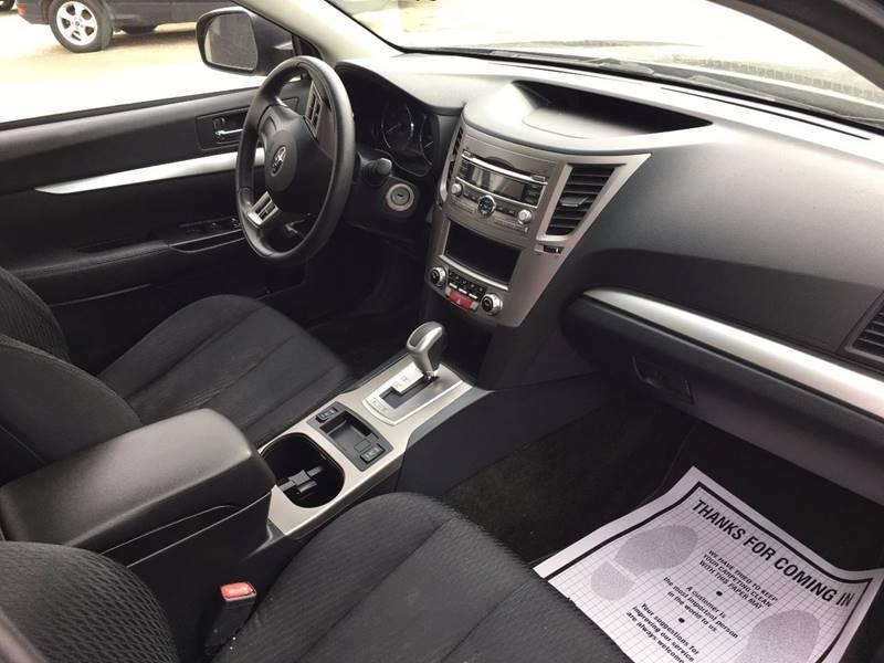 2012 Subaru Outback AWD 2.5i 4dr Wagon CVT - Townshend VT