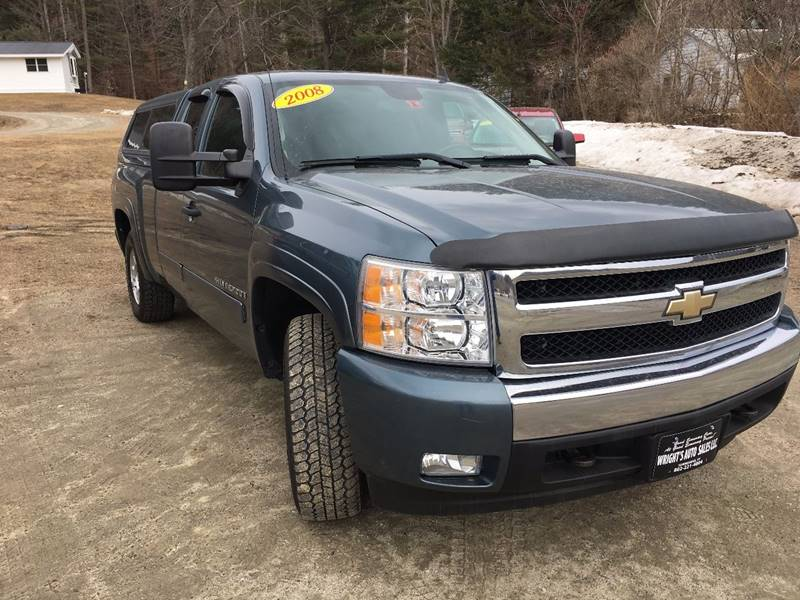 2008 Chevrolet Silverado 1500 4WD LT1 4dr Extended Cab 6.5 ft. SB - Townshend VT
