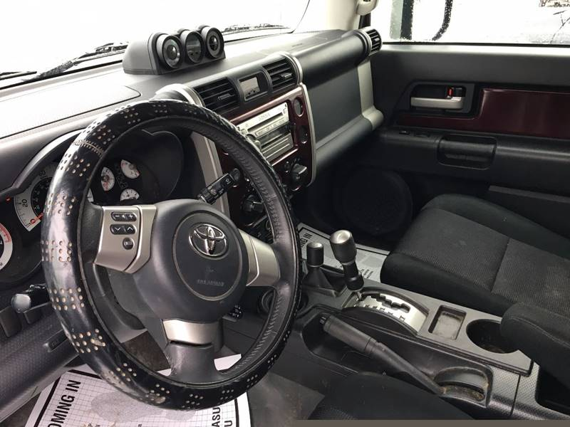 2007 Toyota FJ Cruiser 4dr SUV 4WD (4L V6 5A) - Townshend VT