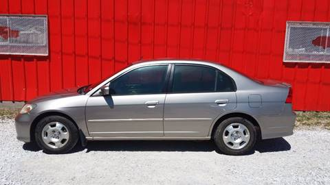 2004 Honda Civic for sale at Mayfield Motors in Boonville MO