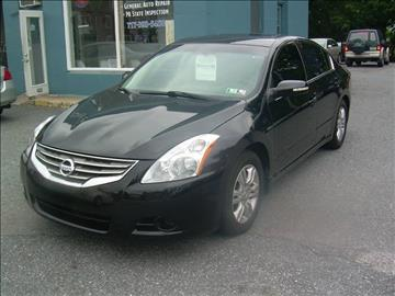2012 Nissan Altima for sale at Kars on King Auto Center in Lancaster PA