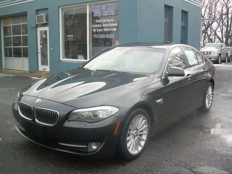 2011 BMW 5 Series for sale at Kars on King Auto Center in Lancaster PA