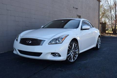 2011 Infiniti G37 Convertible for sale at Precision Imports in Springdale AR