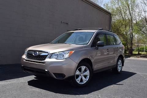 2016 Subaru Forester for sale at Precision Imports in Springdale AR