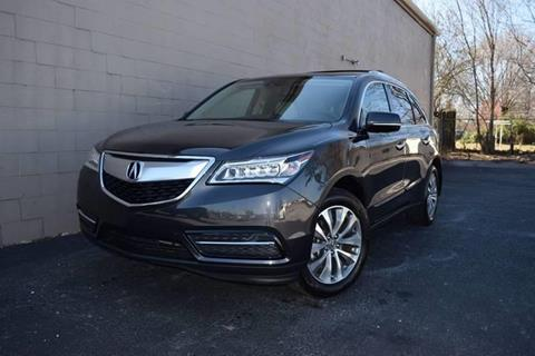 2015 Acura MDX for sale in Springdale, AR