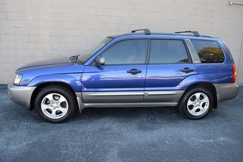 2004 Subaru Forester for sale at Precision Imports in Springdale AR