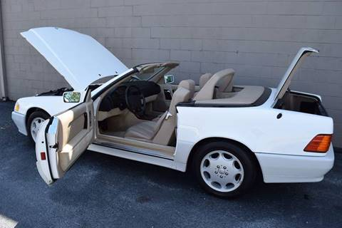 1995 Mercedes-Benz SL-Class for sale at Precision Imports in Springdale AR