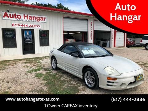 2003 Mitsubishi Eclipse Spyder For Sale In Texas Carsforsale