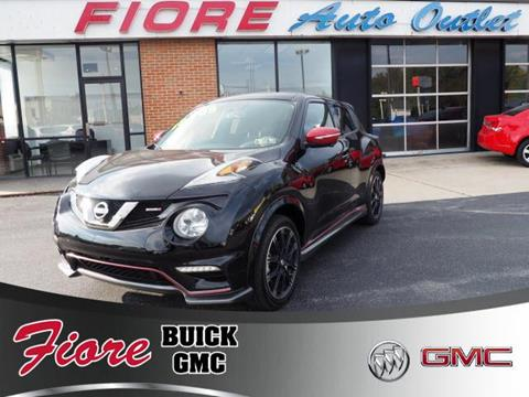 2015 Nissan JUKE for sale in Altoona, PA