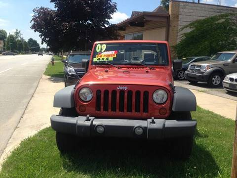 2009 Jeep Wrangler Unlimited for sale in South Bend, IN