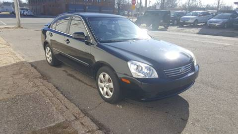2008 Kia Optima EX for sale at Two Rivers Auto Sales Corp. in South Bend IN