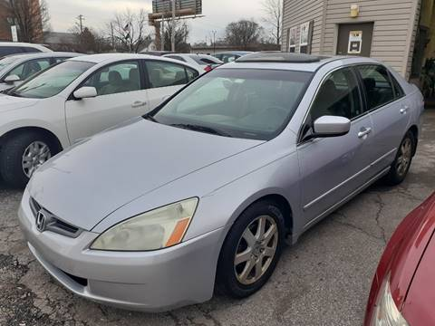 2005 Honda Accord EX V-6 for sale at Two Rivers Auto Sales Corp. in South Bend IN