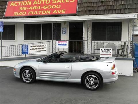 2003 Mitsubishi Eclipse Spyder for sale in Sacramento, CA