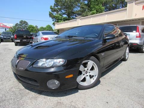2006 Pontiac GTO for sale in Snellville, GA