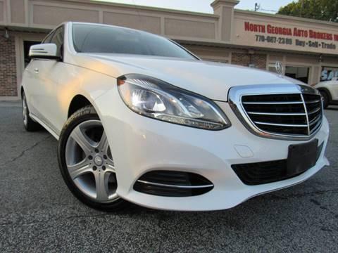 2014 Mercedes-Benz E-Class for sale in Snellville, GA