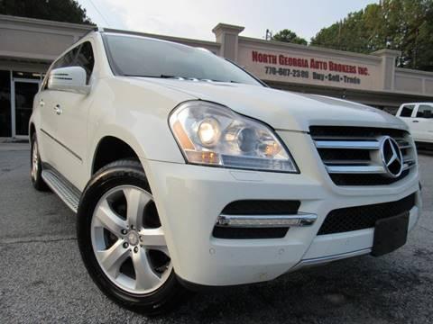 2012 Mercedes-Benz GL-Class GL 450 4MATIC for sale at North Georgia Auto Brokers in Snellville GA
