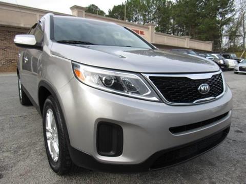 2015 Kia Sorento LX for sale at North Georgia Auto Brokers in Snellville GA