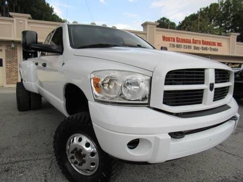 2008 Dodge Ram Pickup 3500 Laramie for sale at North Georgia Auto Brokers in Snellville GA