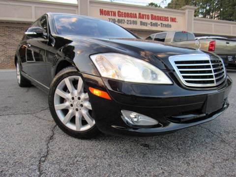 2007 Mercedes-Benz S-Class S 550 4MATIC for sale at North Georgia Auto Brokers in Snellville GA