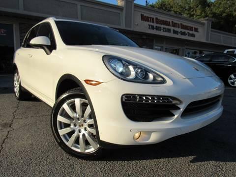 2012 Porsche Cayenne S for sale at North Georgia Auto Brokers in Snellville GA