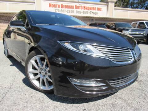 2014 Lincoln MKZ for sale at North Georgia Auto Brokers in Snellville GA