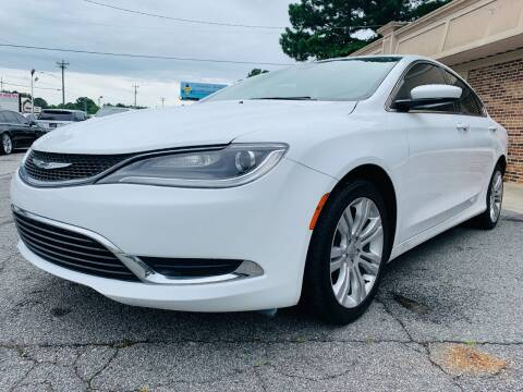 2015 Chrysler 200 for sale at North Georgia Auto Brokers in Snellville GA