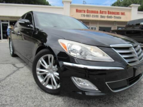2014 Hyundai Genesis for sale at North Georgia Auto Brokers in Snellville GA