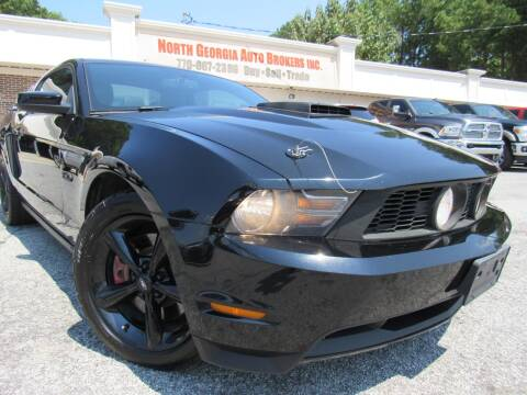 2012 Ford Mustang for sale at North Georgia Auto Brokers in Snellville GA