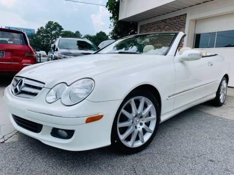 2007 Mercedes-Benz CLK for sale at North Georgia Auto Brokers in Snellville GA