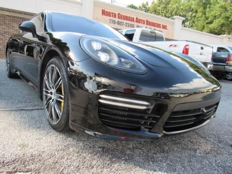 2014 Porsche Panamera for sale at North Georgia Auto Brokers in Snellville GA