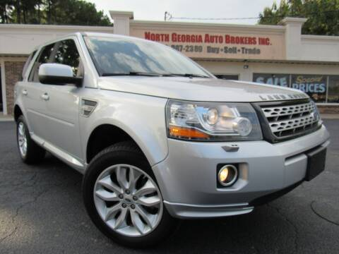 2013 Land Rover LR2 for sale at North Georgia Auto Brokers in Snellville GA