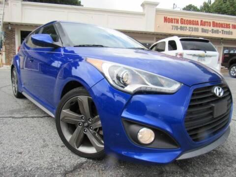 2014 Hyundai Veloster for sale at North Georgia Auto Brokers in Snellville GA