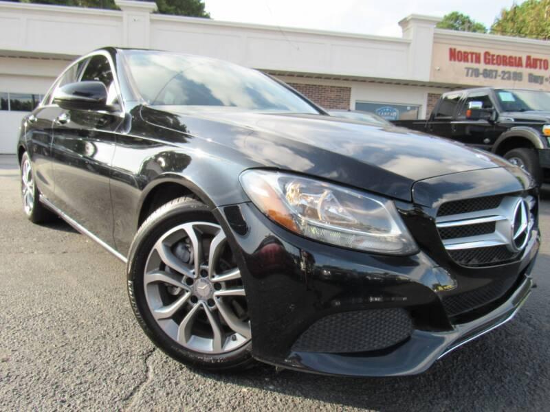 2016 Mercedes-Benz C-Class for sale at North Georgia Auto Brokers in Snellville GA